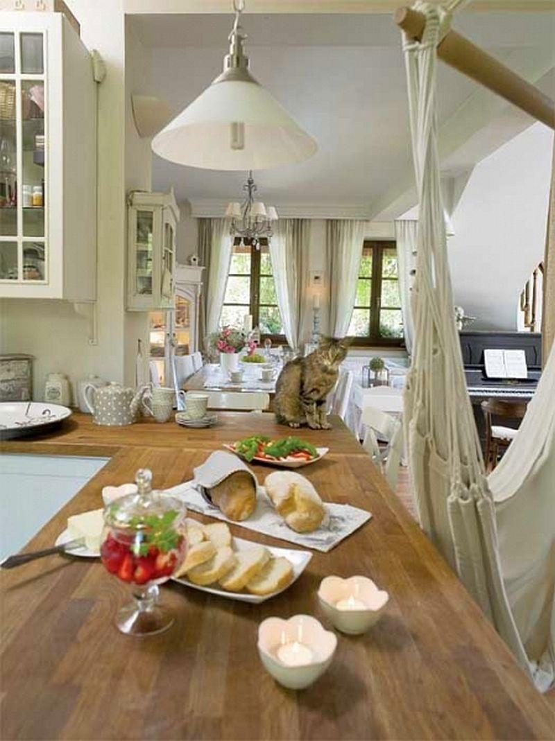 adelaparvu.com despre casa cu decor romantic, casa Polonia, designer Catherine Mazurkiewicz, Foto Weranda Country (17)