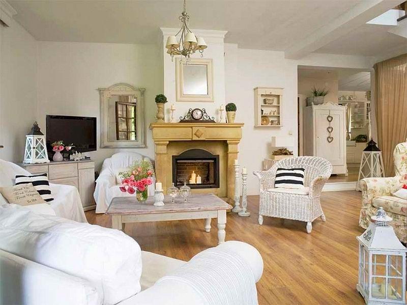 adelaparvu.com despre casa cu decor romantic, casa Polonia, designer Catherine Mazurkiewicz, Foto Weranda Country (8)