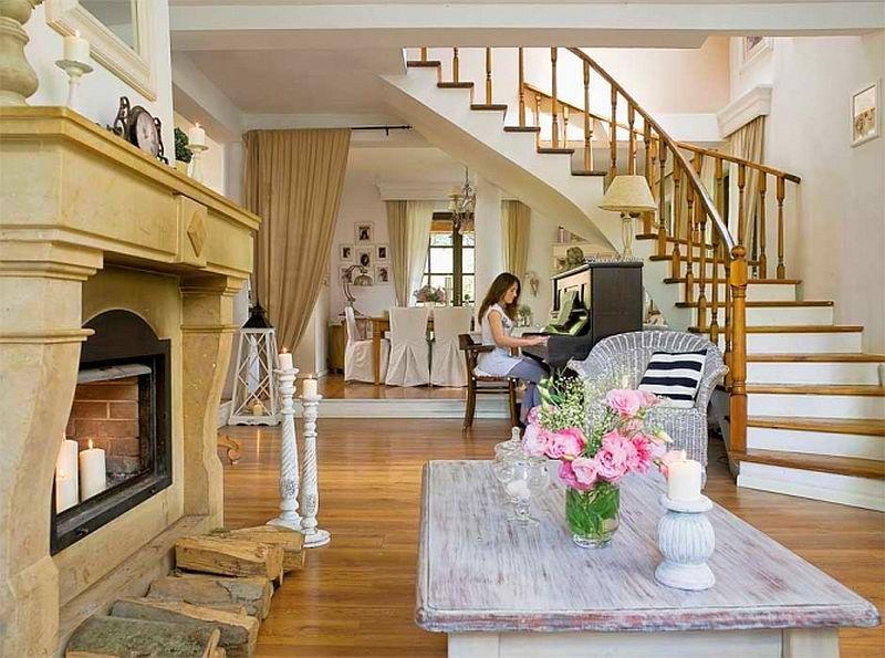 adelaparvu.com despre casa cu decor romantic, casa Polonia, designer Catherine Mazurkiewicz, Foto Weranda Country (9)