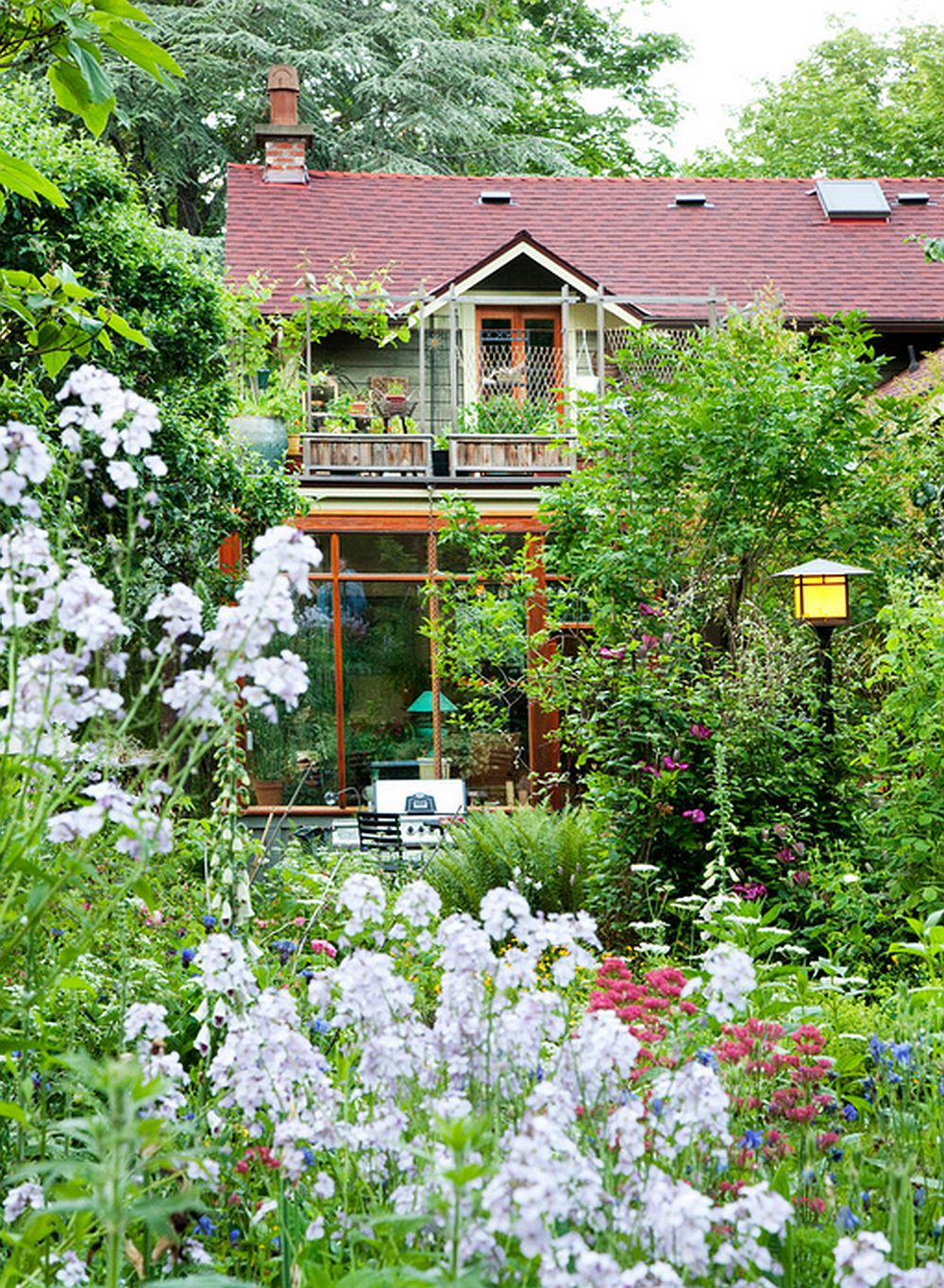adelaparvu.com despre casa cu gradina, gradina superba, design David Coulson (10)
