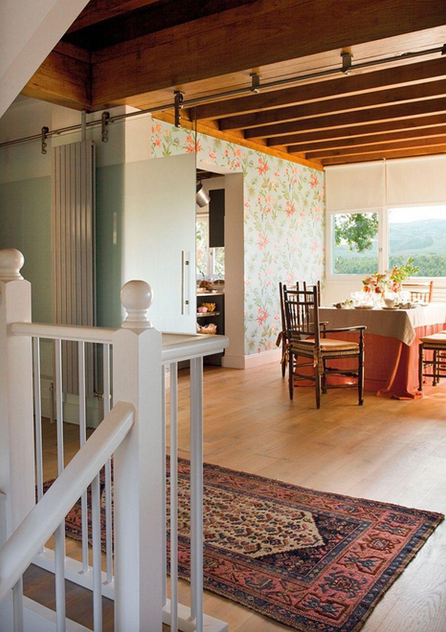 adelaparvu.com despre casa cu terase, casa cu tamplarie verde, casa Spania, Comillas, foto Elmueble (10)