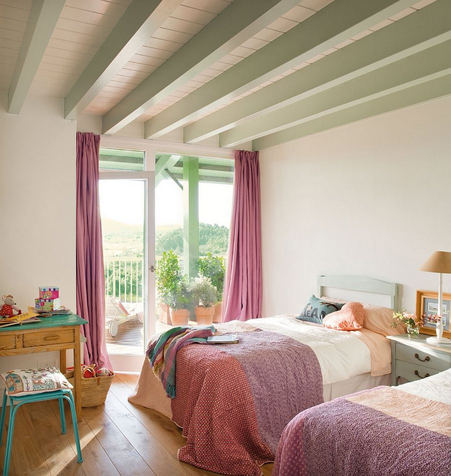 adelaparvu.com despre casa cu terase, casa cu tamplarie verde, casa Spania, Comillas, foto Elmueble (13)