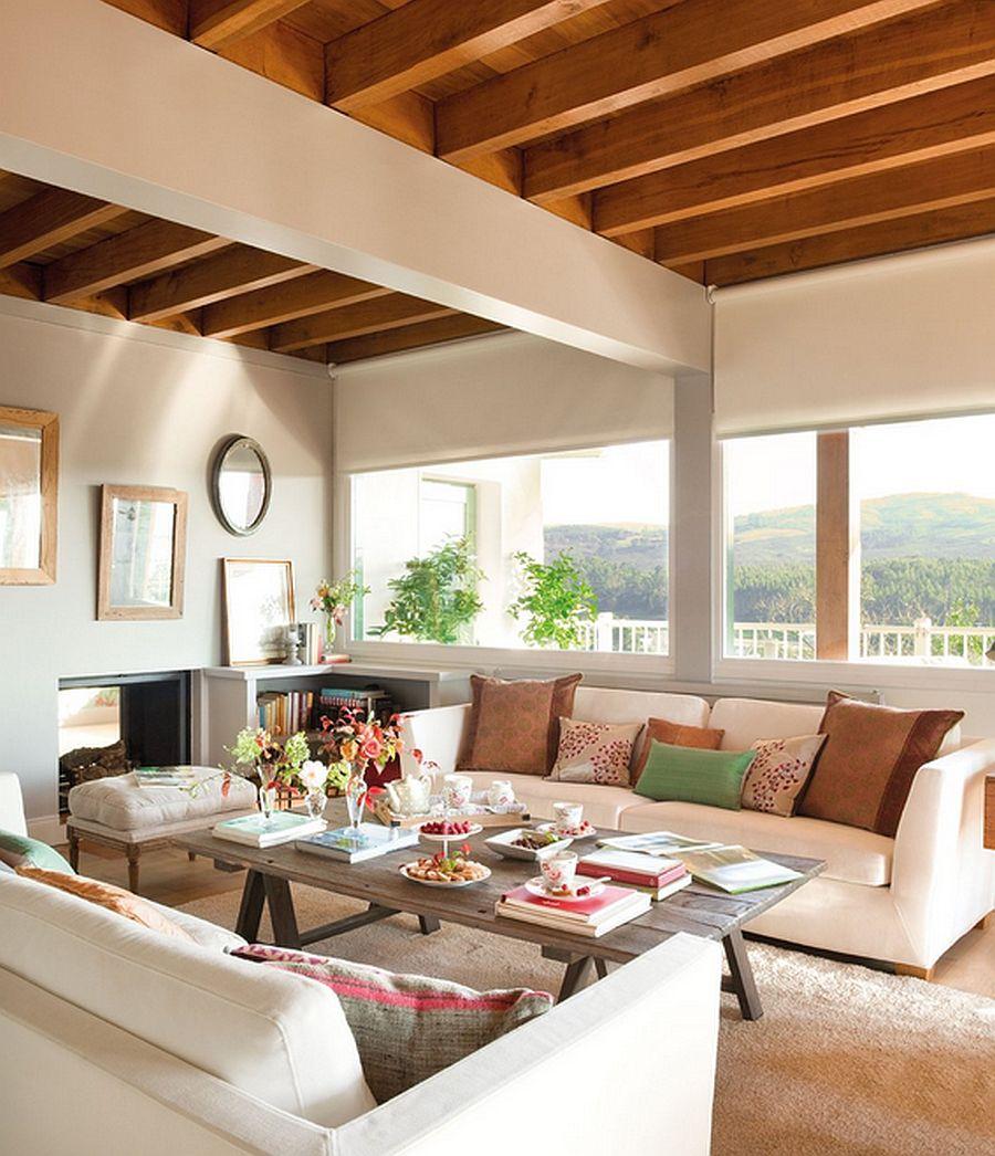 adelaparvu.com despre casa cu terase, casa cu tamplarie verde, casa Spania, Comillas, foto Elmueble (6)