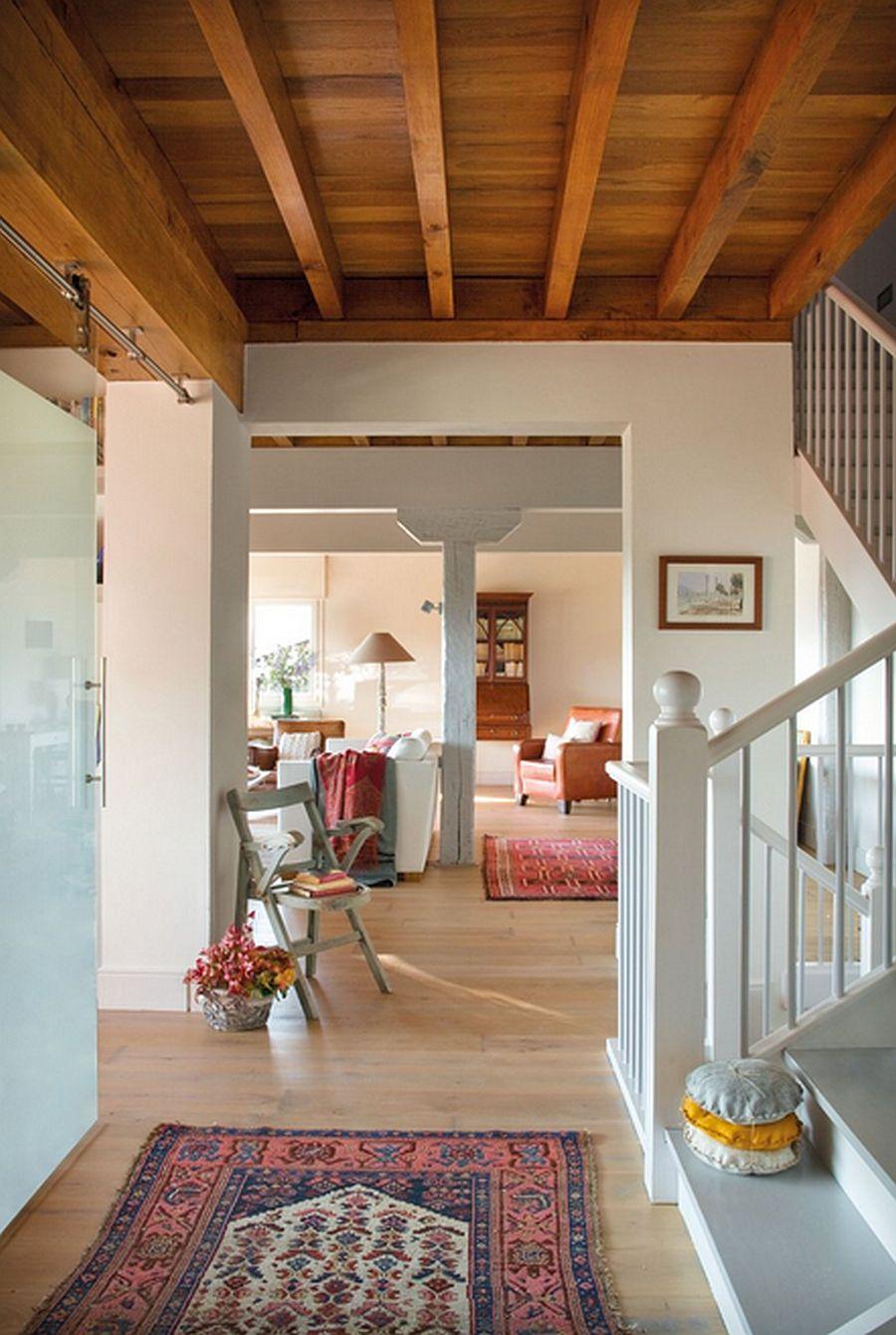 adelaparvu.com despre casa cu terase, casa cu tamplarie verde, casa Spania, Comillas, foto Elmueble (9)