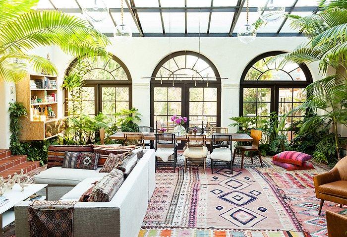 adelaparvu.com despre casa de tip hacienda, casa SUA, casa Katie Tarses, Foto One kings lane (1)