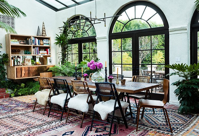 adelaparvu.com despre casa de tip hacienda, casa SUA, casa Katie Tarses, Foto One kings lane (4)