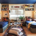 adelaparvu.com despre casa de vacanta intr-o rulota transformata, design Steven Johanknecht, Commune Design (9)
