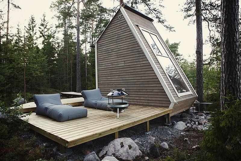 adelaparvu.com despre casa de vacanta mica din lemn, casa Nido, design Robin Falck (5)