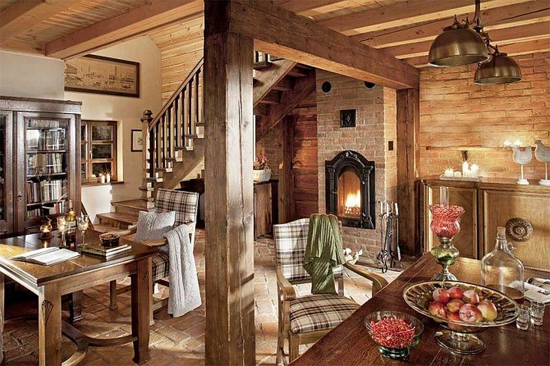 adelaparvu.com despre casa din caramida, pensiune Szara Sowa, Polonia (12)