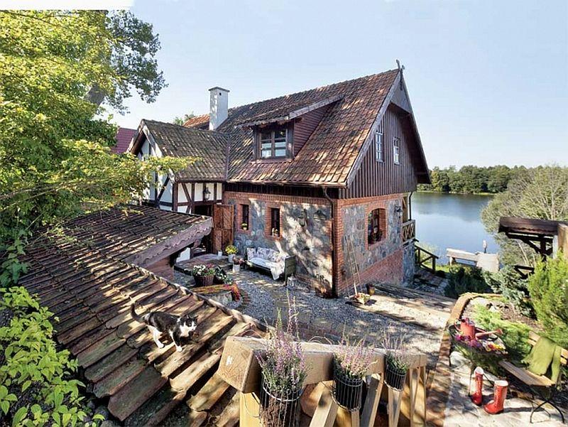 adelaparvu.com despre casa din caramida, pensiune Szara Sowa, Polonia (4)