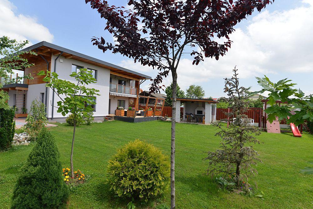adelaparvu.com despre casa din lemn Bacau, casa Romania, csa tip framing, casa Ecokit, arhitect Radu Dobreanu (15)