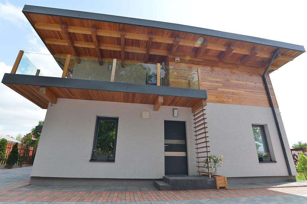 adelaparvu.com despre casa din lemn Bacau, casa Romania, csa tip framing, casa Ecokit, arhitect Radu Dobreanu (7)