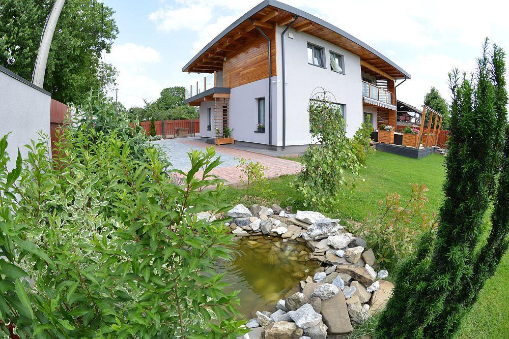 adelaparvu.com despre casa din lemn Bacau, casa Romania, csa tip framing, casa Ecokit, arhitect Radu Dobreanu (8)