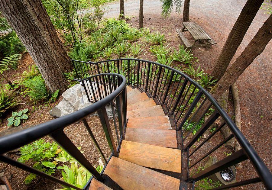 adelaparvu.com despre casa mica cu acoperis din plante, casa in stil japonez, design David Coulson, Foto Debra Brash (1)