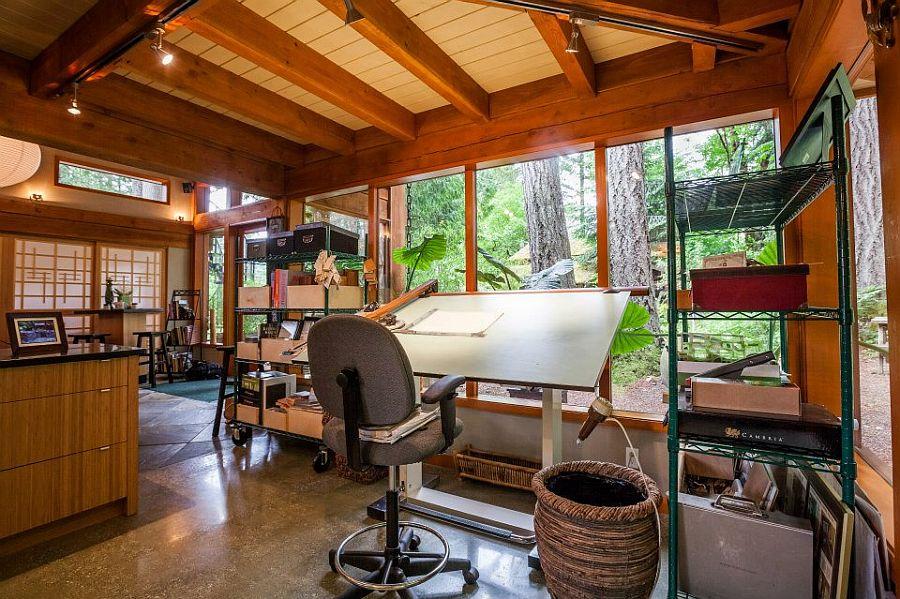 adelaparvu.com despre casa mica cu acoperis din plante, casa in stil japonez, design David Coulson, Foto Debra Brash (16)