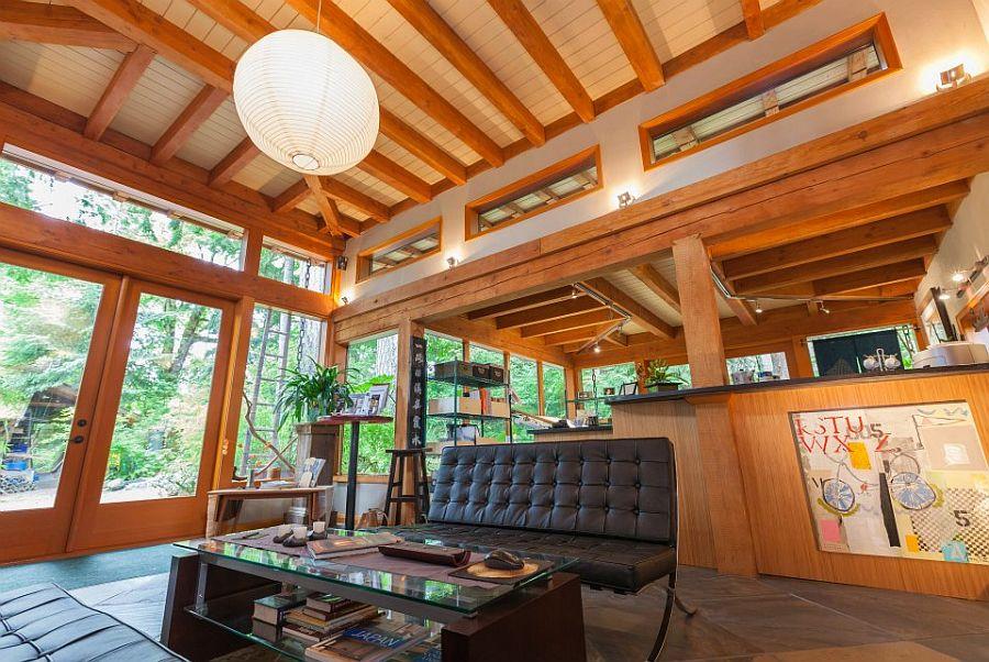 adelaparvu.com despre casa mica cu acoperis din plante, casa in stil japonez, design David Coulson, Foto Debra Brash (19)