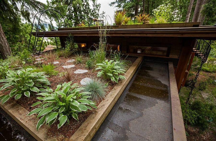 adelaparvu.com despre casa mica cu acoperis din plante, casa in stil japonez, design David Coulson, Foto Debra Brash (20)
