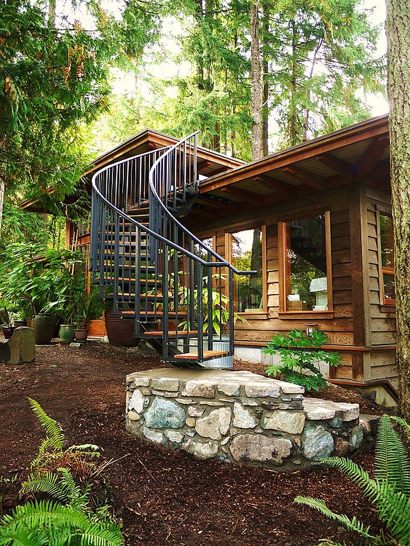adelaparvu.com despre casa mica cu acoperis din plante, casa in stil japonez, design David Coulson, Foto Debra Brash (24)