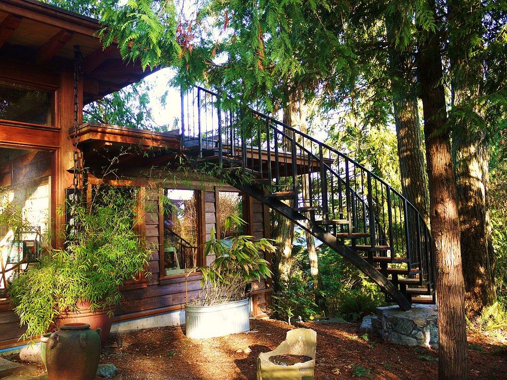 adelaparvu.com despre casa mica cu acoperis din plante, casa in stil japonez, design David Coulson, Foto Debra Brash (25)