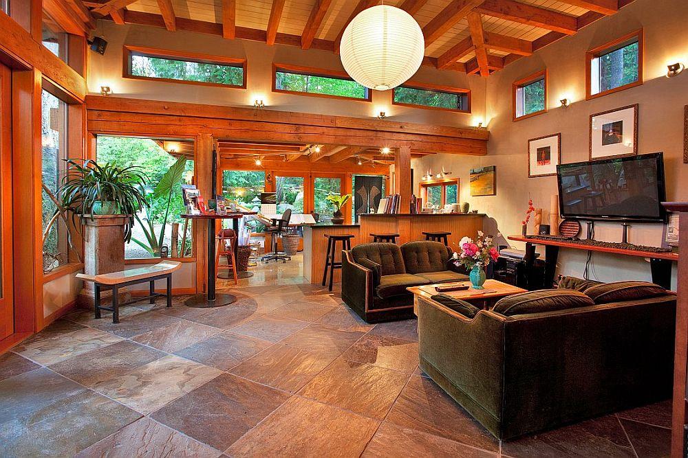 adelaparvu.com despre casa mica cu acoperis din plante, casa in stil japonez, design David Coulson, Foto Debra Brash (26)