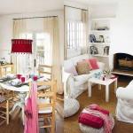 adelaparvu.com despre casa mica cu interioare rustice, casa Spania Costa Brava, foto Micasa 20
