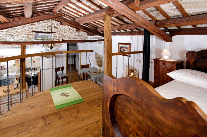 adelaparvu.com despre casa mica din piatra, casa de vacanta, casa Mia Istria, Croatia (17)