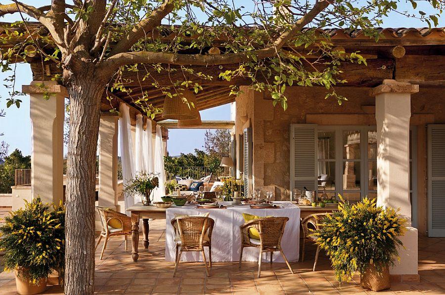 adelaparvu.com despre casa rustica Mallorca, casa de piatra, design interior Copper Haouse Design (1)