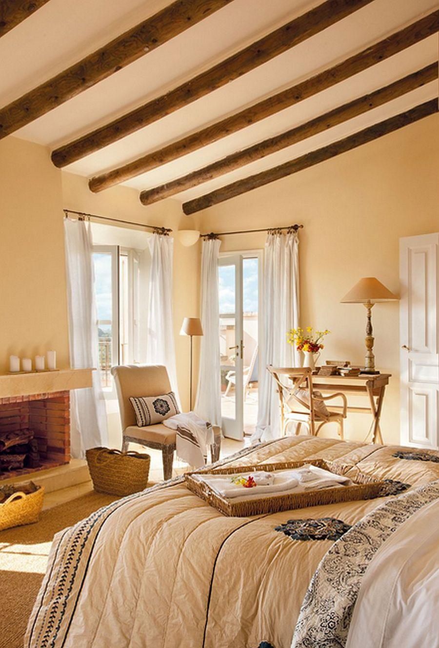 adelaparvu.com despre casa rustica Mallorca, casa de piatra, design interior Copper Haouse Design (15)