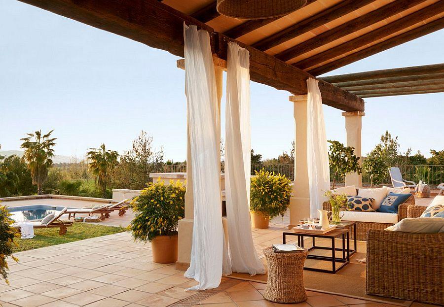 adelaparvu.com despre casa rustica Mallorca, casa de piatra, design interior Copper Haouse Design (4)