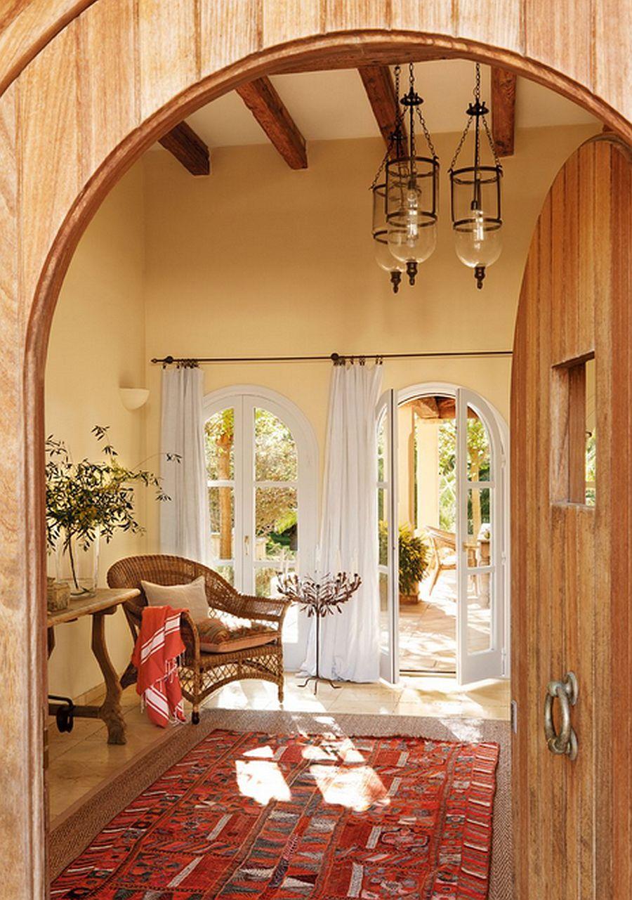 adelaparvu.com despre casa rustica Mallorca, casa de piatra, design interior Copper Haouse Design (5)