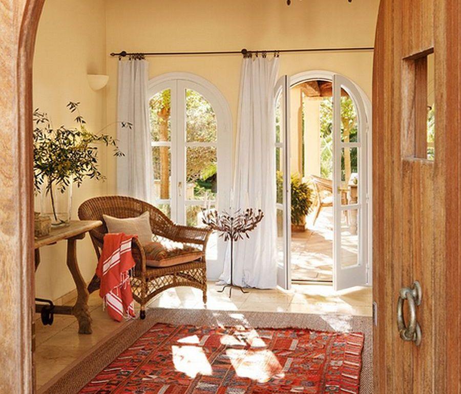 adelaparvu.com despre casa rustica Mallorca, casa de piatra, design interior Copper Haouse Design