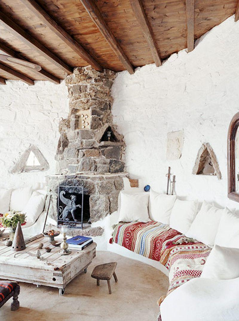 adelaparvu.com despre casa rustica la mare, Drakothea Residence, Mykonos Grecia, Foto Kid and Coe (1)