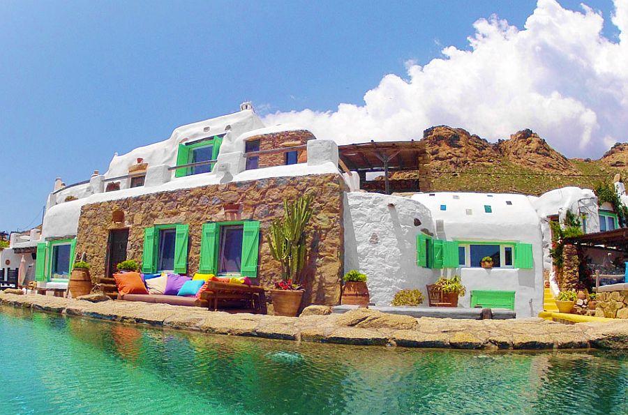 adelaparvu.com despre casa rustica la mare, Drakothea Residence, Mykonos Grecia, Foto Kid and Coe (14)