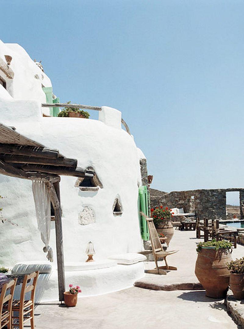 adelaparvu.com despre casa rustica la mare, Drakothea Residence, Mykonos Grecia, Foto Kid and Coe (8)