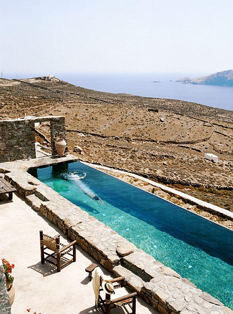 adelaparvu.com despre casa rustica la mare, Drakothea Residence, Mykonos Grecia, Foto Kid and Coe (9)