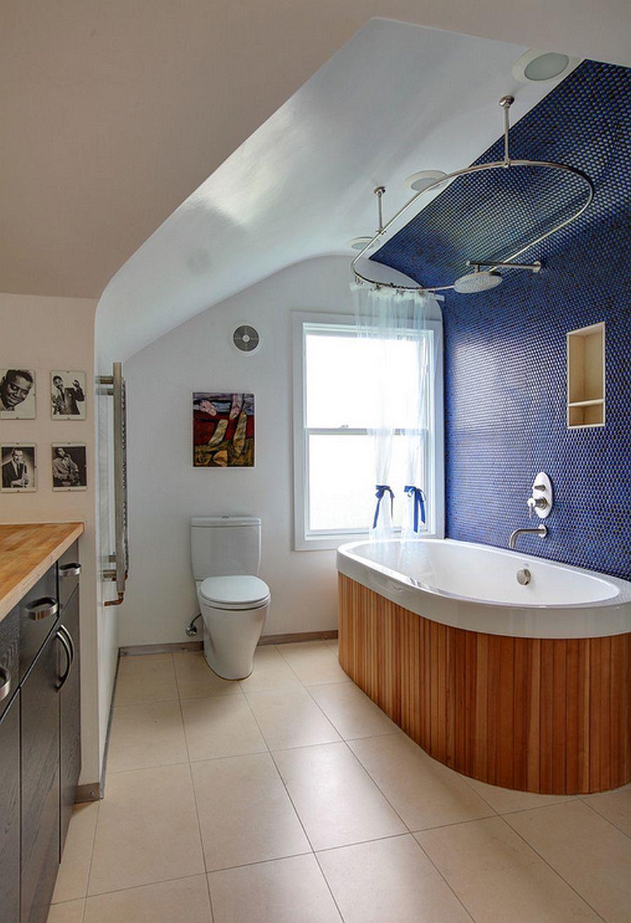 adelaparvu.com despre casa simpla transformata, casa cu acoperis arcuit, casa americana, casa SUA, arhitect Edgar Papazian, Foto Lincoln Barbour (13)
