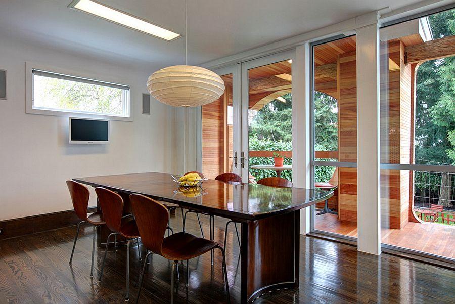 adelaparvu.com despre casa simpla transformata, casa cu acoperis arcuit, casa americana, casa SUA, arhitect Edgar Papazian, Foto Lincoln Barbour (15)