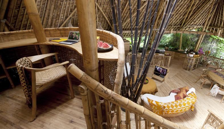 adelaparvu.com despre case din bambus, Green Village Bali, design Ibuku Design (1)