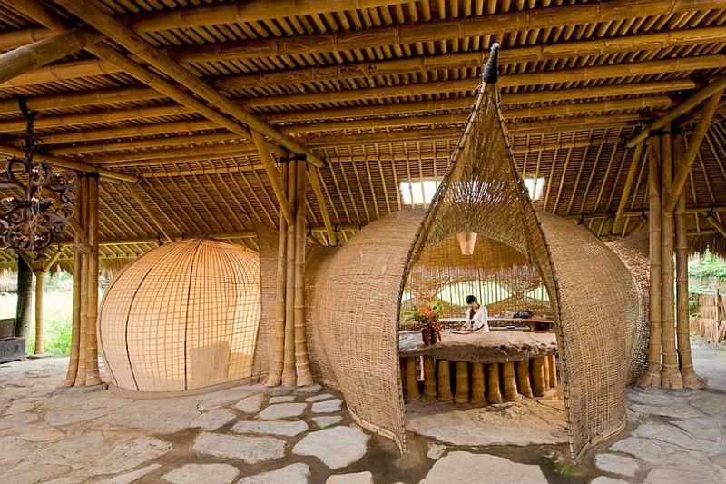 adelaparvu.com despre case din bambus, Green Village Bali, design Ibuku Design (11)