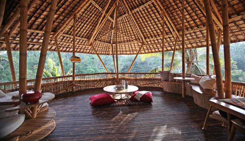 adelaparvu.com despre case din bambus, Green Village Bali, design Ibuku Design (13)