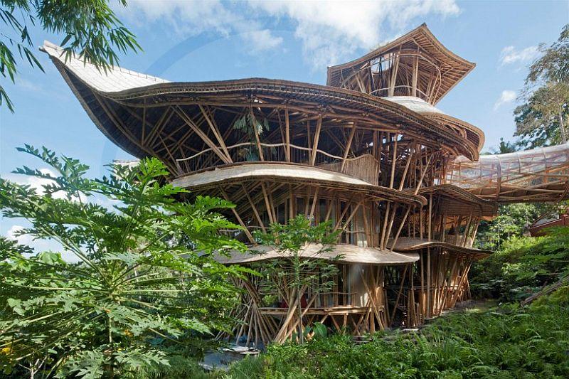adelaparvu.com despre case din bambus, Green Village Bali, design Ibuku Design (14)