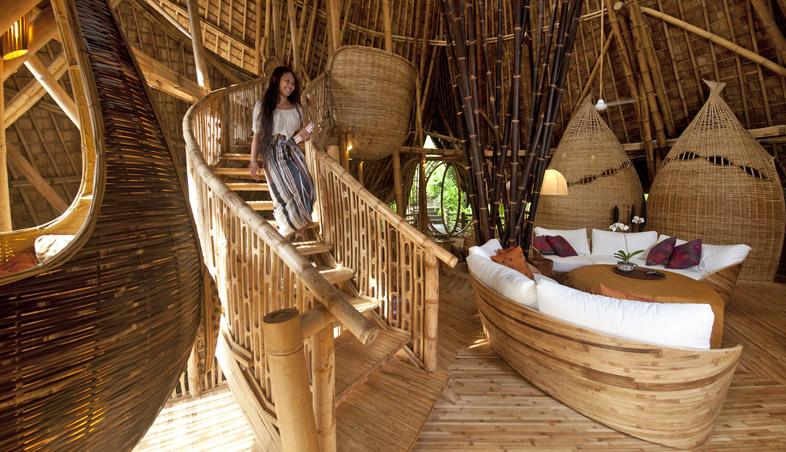 adelaparvu.com despre case din bambus, Green Village Bali, design Ibuku Design (2)