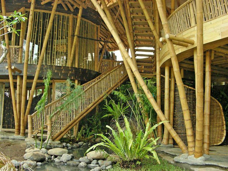 adelaparvu.com despre case din bambus, Green Village Bali, design Ibuku Design (38)