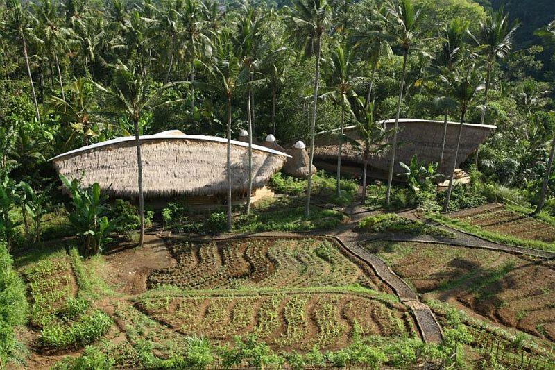 adelaparvu.com despre case din bambus, Green Village Bali, design Ibuku Design (39)