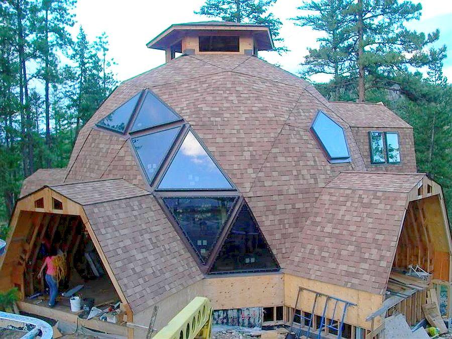 adelaparvu.com despre case tip dom, domuri geodezice Cora T Siegmeth (3)