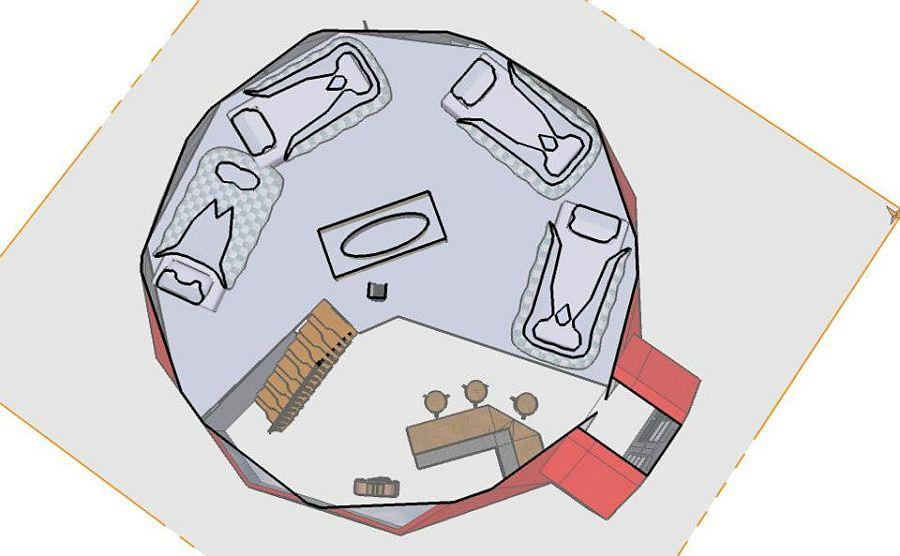 adelaparvu.com despre case tip dom, domuri geodezice Cora T Siegmeth (4)