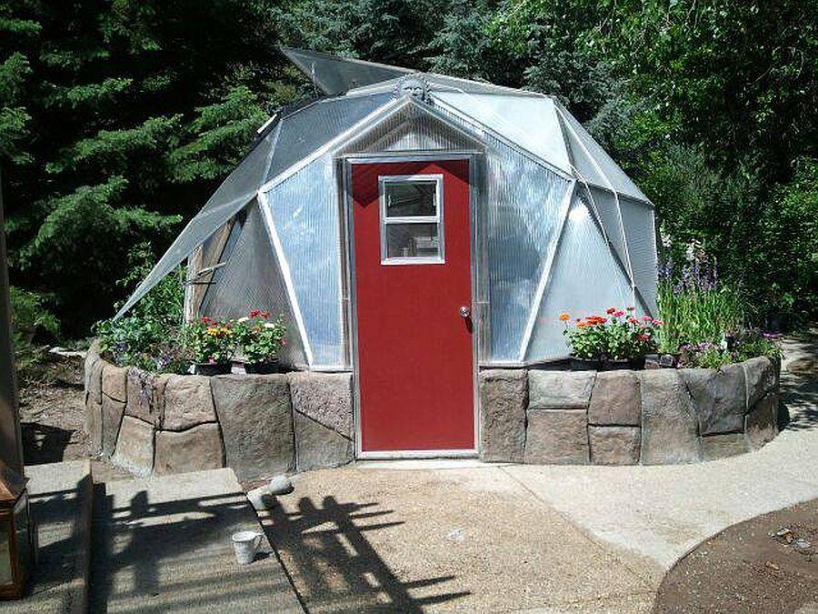 adelaparvu.com despre case tip dom, domuri geodezice, Foto Geodesic Greenhouse Kits (1)