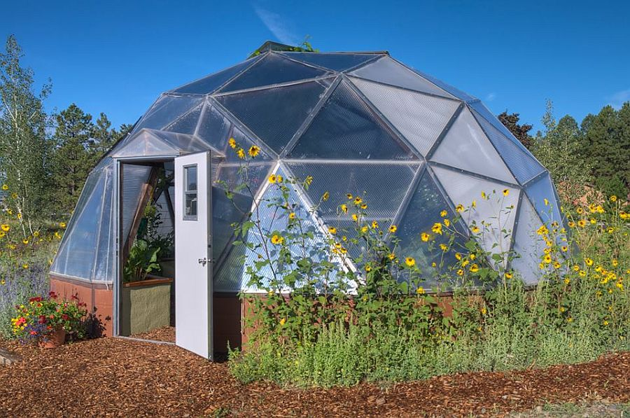 adelaparvu.com despre case tip dom, domuri geodezice, Foto Geodesic Greenhouse Kits (3)