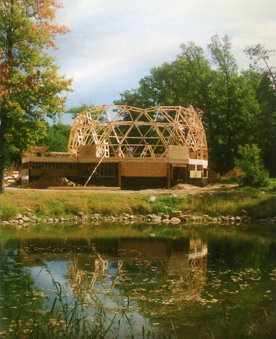 adelaparvu.com despre case tip dom, domuri geodezice, Foto NaturalSpacesDomes (10)