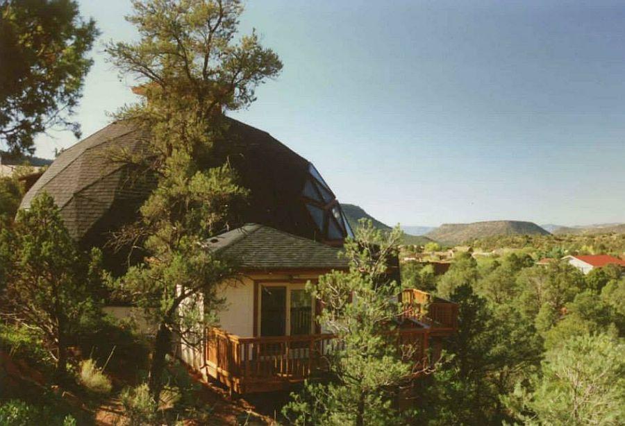 adelaparvu.com despre case tip dom, domuri geodezice, Foto NaturalSpacesDomes (2)